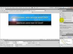 How To Make a Website in Dreamweaver (Tutorial For Beginners! Dreamweaver Tutorial, Adobe Dreamweaver, Landing Pages That Convert, Professional Web Design, Responsive Web Design, Building A Website, Make It Simple, Coding, Music Videos