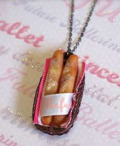 Bread Stick Necklace!!