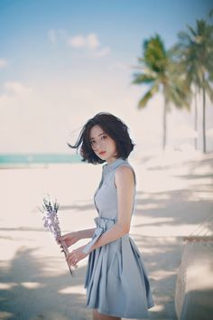 asian girl, short hair, and beautiful image K Fashion, Asian Fashion, Fashion Models, Korean Beauty, Asian Beauty, Asian Woman, Asian Girl, Lady Like, Yoon Sun Young