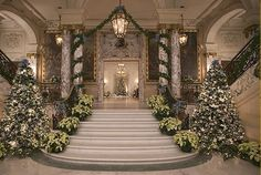 The Breakers Mansion Interior | The Gilded Age at Christmas Interior Designer in Charlotte - Interior ...