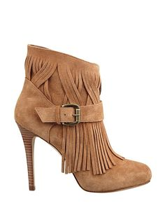Callica Fringed Booties | GUESS.com