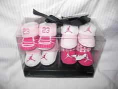 Nike Air Jordan Booties Socks Crib Shoes « Clothing Impulse, present idea for the niece Cute Baby Shoes, Baby Girl Shoes, Cute Baby Girl, Cute Baby Clothes, Baby Boy Outfits, Baby Love, Cute Babies, Children Outfits, Dream Baby