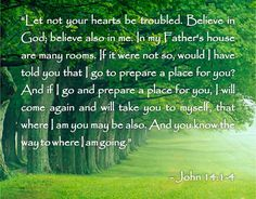 death quotes   Bible Quotes About Death – John 14:1-4