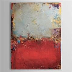 Oil Paintings - Abstract Paintings - Hand Painted Oil Painting Abstract 1303-AB0345
