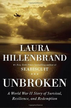 Unbroken: A World War II Story of Survival, Resilience, and Redemption by Laura Hillenbrand, http://www.amazon.com/dp/1400064163/ref=cm_sw_r_pi_dp_lXxYqb0EMC15B