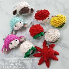 Crochet Case, Golf Club Covers, Key Covers, Golf Clubs, Crochet Necklace, Knitting, Crochet Box, Golf Club Headcovers, Tricot