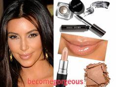 Best Kim Kardashian Makeup Looks for Summer 2012