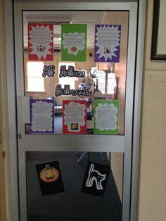 Interpretive Door - All Hallows Eve/Halloween October 2013