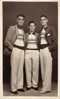 Three young men, Yarmouth, UK, August 1937 | Flickr - Photo Sharing!