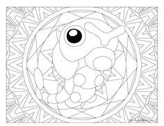 Caterpie Pokemon 010 Coloring PagesKids ColoringColouringPikachu Doodle