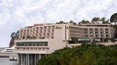 Hotel Fairmont Monte-Carlo, located on the track of the Monaco ...