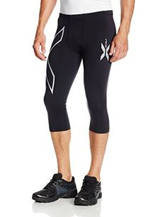 2XU Mens Thermal Compression 34 Tights BlackBlack XLarge *** You can get additional details at the image link.(This is an Amazon affiliate link)