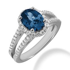 This is what I want baby......Jewelry Point - London Blue Topaz