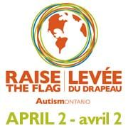 Help Autism Ontario Raise The Flag for Autism on April World Autism Awareness Day. World Autism Awareness Day, Facebook Avatar, Raising, Flag, Science, Flags