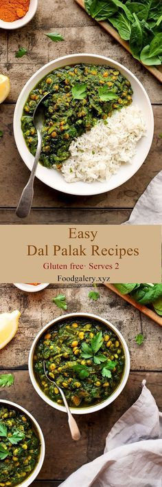 Easy Dal Palak >> for complete recipe please click Cod Fish Recipes, Spicy Recipes, Indian Food Recipes, Pasta Recipes, Yummy Recipes, Soup Recipes, Cookie Recipes, Keto Recipes, Yummy Food