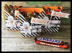 Pink Buckaroo Designs: Cookie Cutter Halloween Treat Box and my weekend in Michigan with Creating Success