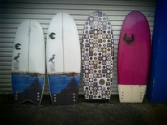 Boards by Dale Walker of Ectic Concepts