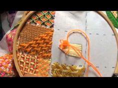 120.- Bordado Fantasia pétalo de girasol de niña granjera - YouTube