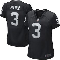 shop the official Raiders store for a Women's Nike NFL Oakland Raiders #3 Carson Palmer Game Team Color Black Jersey in the latest styles available online and in stores. Size: S,M 40,L 44,XL 48,XXL 52,XXXL 56,XXXXL 60.Totally free shipping and returns.  $69.99