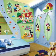 TOODLES Mickey Mouse Clubhouse Disney Decal Removable WALL STICKER Decor  Art | Kayleeu0027s Room | Pinterest | Toodles Mickey Mouse, Mickey Mouse  Clubhouse And ...