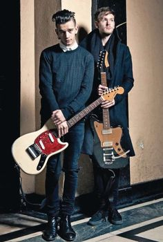 Adam and Matty for Total Guitar by Rob Monk (March 2014)