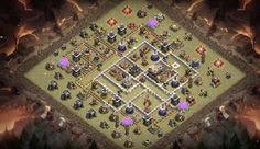 War Base Designs & Trophy Farming Base Designs you can use to protect Resources, Stars & Trophies and Dark Elixir for Town Hall Trophy Base, Star Trophy, Clash Of Clans Android, 8k Wallpaper, Superman Art, Bone Jewelry, Kuroko, Layouts, Cigarette Aesthetic