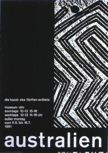 Plakat: Mavignier, Almir - 1961 - Museum Ulm (Australien)