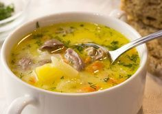 37 ideas recipes healthy soup cooking for 2019 Healthy Recepies, Healthy Soup, Healthy Cooking, Cooking Recipes, Best Soup Recipes, Chicken Soup Recipes, Seafood Recipes, Ukrainian Recipes, Russian Recipes