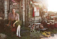 Hot Under the Collar (Elle U.S.)