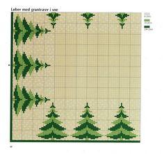 noël - christmas - sapin - point de croix - cross stitch - Blog : http://broderiemimie44.canalblog.com/