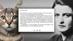 Ayn Rand's Actual Letter to Cat Fancy - awesome