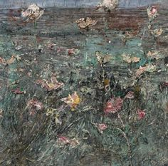 Anslem Kiefer, Lily Pond, Knife Painting, Flower Paintings, Beautiful Paintings, Artist At Work, Monet, Modern Art, Texture