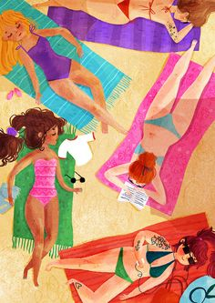 brasileiras <3 an illustration for art show about brazil that's happening in couple of months at london