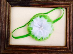 Lime green puff headband. Please like my facebook page www.facebook.com/littlepearlbowtique Please Like Me, Custom Headbands, Baby Style, Lime, Facebook, Green, Lima, Limes, Key Lime