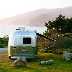 A great Airstream spot--I would LOVE to find a spot like this. I think I would never leave it!