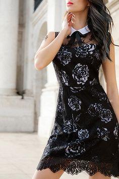 rose lace lbd ~