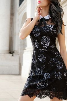 rose lace lbd ~