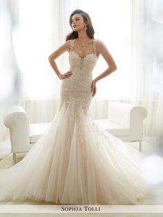 View Dress - Sophia Tolli SPRING 2017 Collection - Y11722 Amie | SophiaTolliByMonCheri Bridal