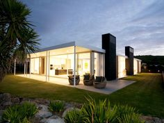 Exquisite glass cladded haven on Omaha Beach