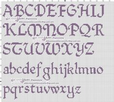 ~ This unique photo is truly an impressive style philosophy. Cross Stitch Alphabet Patterns, Alphabet Charts, Cross Stitch Letters, Cross Stitch Baby, Cross Stitch Charts, Cross Stitch Designs, Stitch Patterns, Cross Stitching, Cross Stitch Embroidery