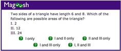 Since readers are always asking for more GRE math practice, I've rounded up some of my favorite questions from the Premium side of Magoosh to make them available to you for free. The truth is, when it comes to studying for GRE quant, you can never get your hands on enough practice questions. I've broken …