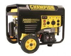 Champion Power Equipment 46539 4000 Watt Generator | POWER GENERATORS & POWER TOOLS