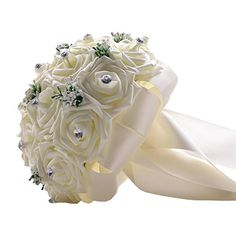 Bouquet de 23 Roses Creme Blanc Artificielles Ornee Stras... https://www.amazon.fr/dp/B01FQOARE8/ref=cm_sw_r_pi_dp_B.brxb3KDM9CD