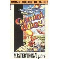 Gemini Wing for Amstrad CPC from Mastertronic Plus