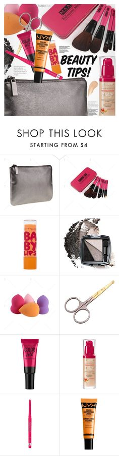 """""""Beauty Tips"""" by pokadoll ❤ liked on Polyvore featuring beauty, Maybelline, Avon, Bourjois, Rimmel, NYX, Charlotte Tilbury, polyvoreeditorial and polyvoreset"""