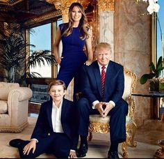 THE FIRST FAMILY! God Bless & PROTECT you Trump Family!