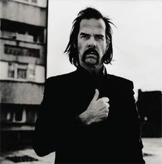 Nick Cave by Anton Corbijn