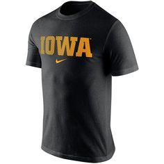 18e5fef76 Men s Nike Iowa Hawkeyes Basketball Tri-Blend Tee ( 32) ❤ liked on Polyvore