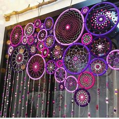 Stunning Dream Catcher beaded curtain!!! Xxxx                                                                                                                                                     More