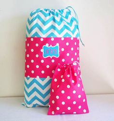 Kid's Overnight Bag and Matching Duffle in Bright by UrbanCreative